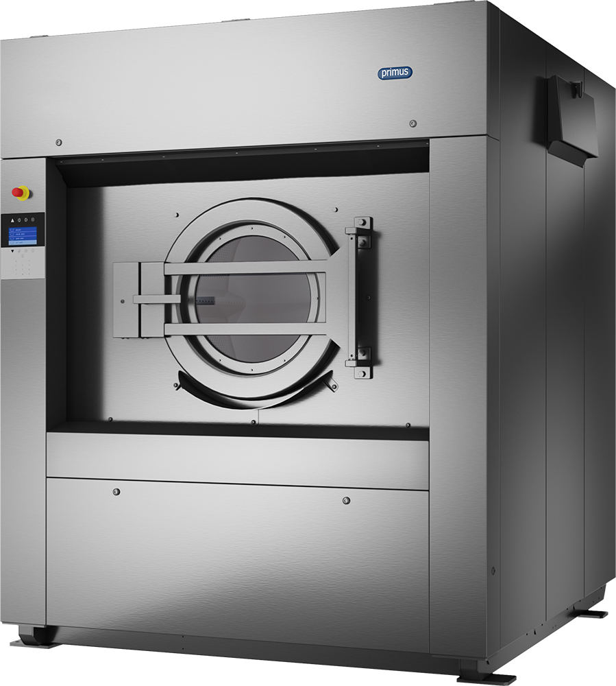 1c990d9128e847 Large capacity, high spin, softmount industrial washer extractor with  capacities from 80-120 kg
