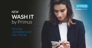 Wash It by Primus, the new Digital Laundromat Solution