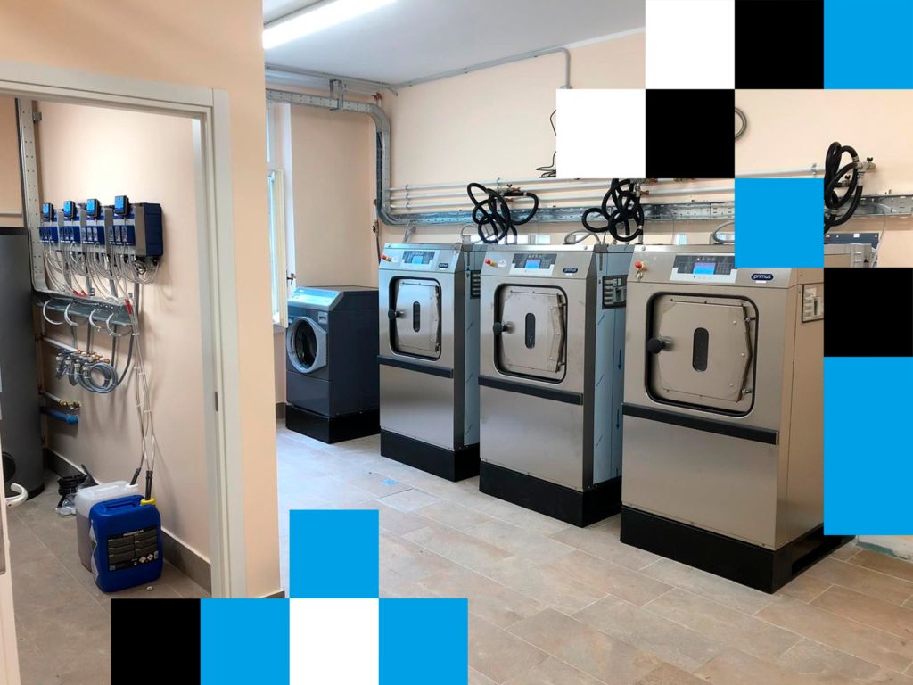 Primus Laundry Hygienic Installation for an Italian Nursing Home