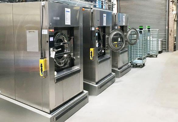 Commerciële wasserij